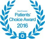 DocFinder Patients Choice Award 2016 für Dr. Margot Venetz-Ruzicka