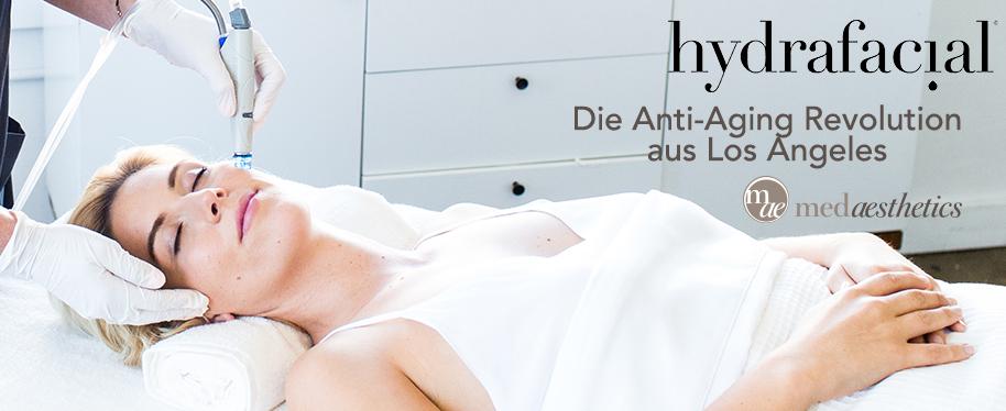 Hydrafacial Behandlung bei Medaesthetics in Wien 1100